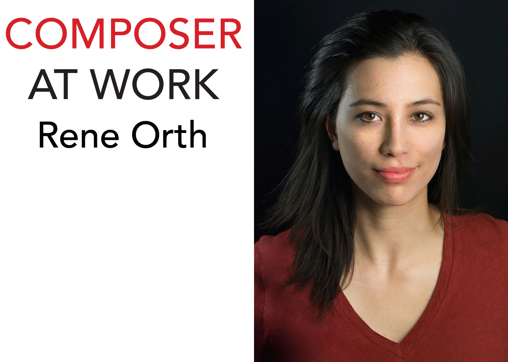 Rene Orth Composer At Work